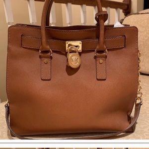 Michael Kors Hampton Leather Bag